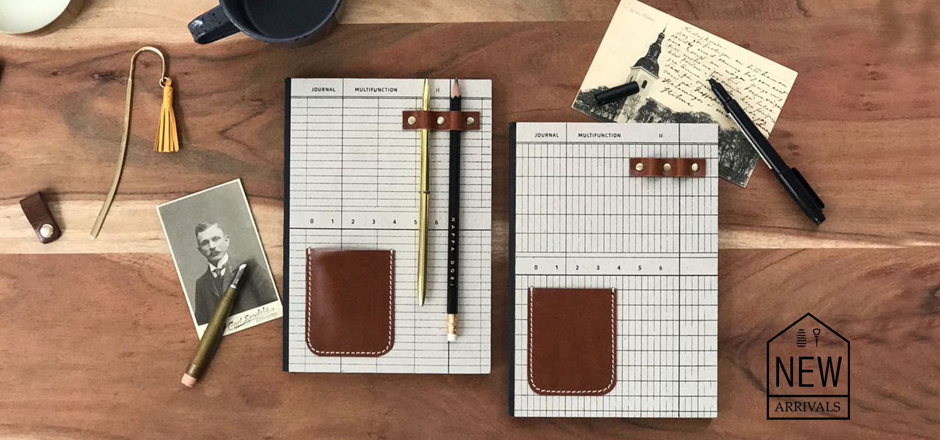 Notebooks and Leather Journals | Nappa Dori